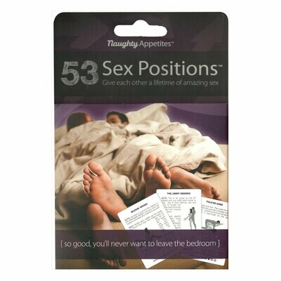 53 Sex Positions Flashcards