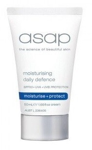 ASAP Moisturising Daily Defence SPF50+ 50ml