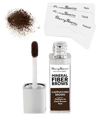 FIBRE BROW KIT WITH STENCILS