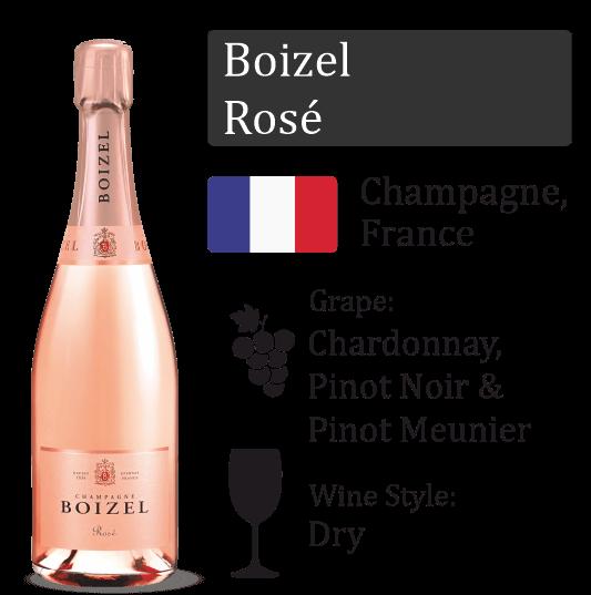Boizel Rose - GIFT BOX