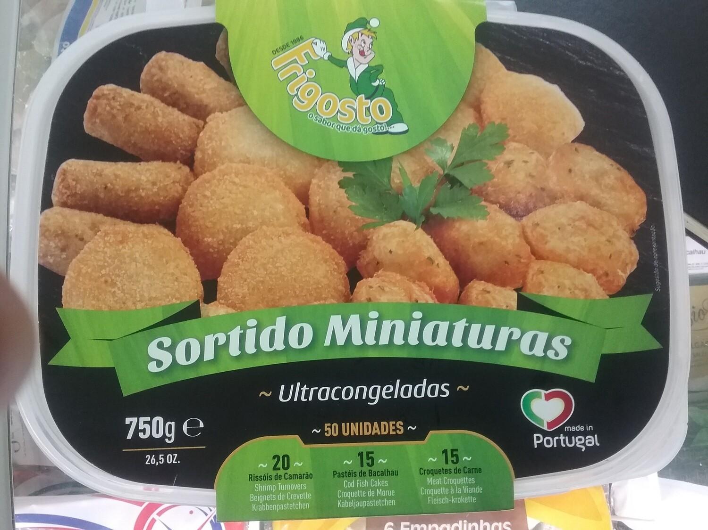 SORTIDO MINIATURAS FRIG.cx.4 x 50 un