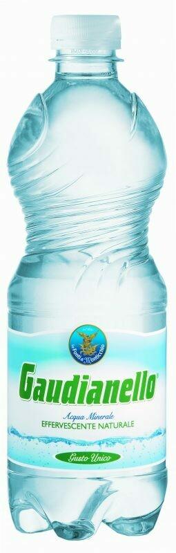 Gaudianello sparkling water 500ml