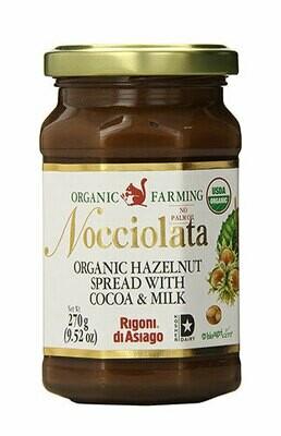 Rigoni  Nocciolata organic hazelnut cream 270g