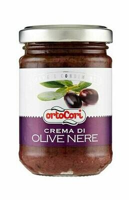 Ortocori Black olives cream 130g