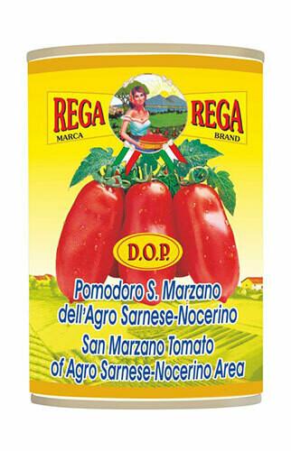 Rega San Marzano peeled tomatoes 400g