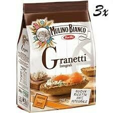 Mulino Bianco Whole wheat Granetti 280g