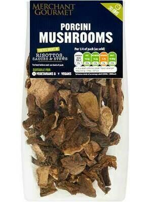 Dried Porcini mushrooms  30g