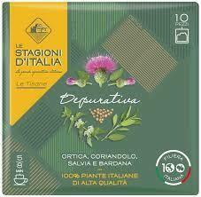 Le stagioni d'Italia purifying herbal tea x10