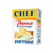 Parmalat Panna chef cream 4 cheeses 125ml