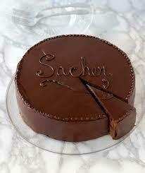 Pasticceria Salernitana Sacher cake 1.2kg
