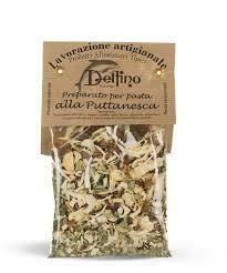 Delfino puttanesca pasta mix 50g