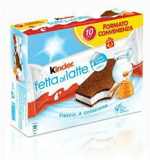 Kinder Fetta latte x10 280g