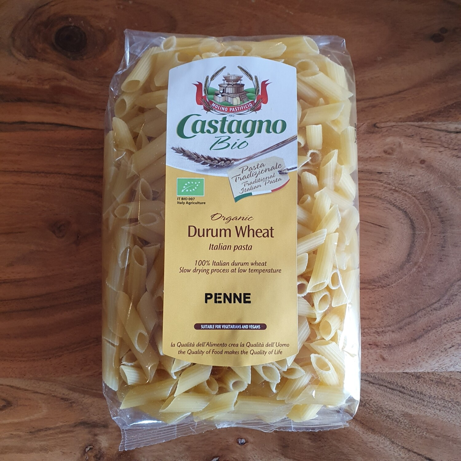 Castagno Wheat Durum Penne 500g