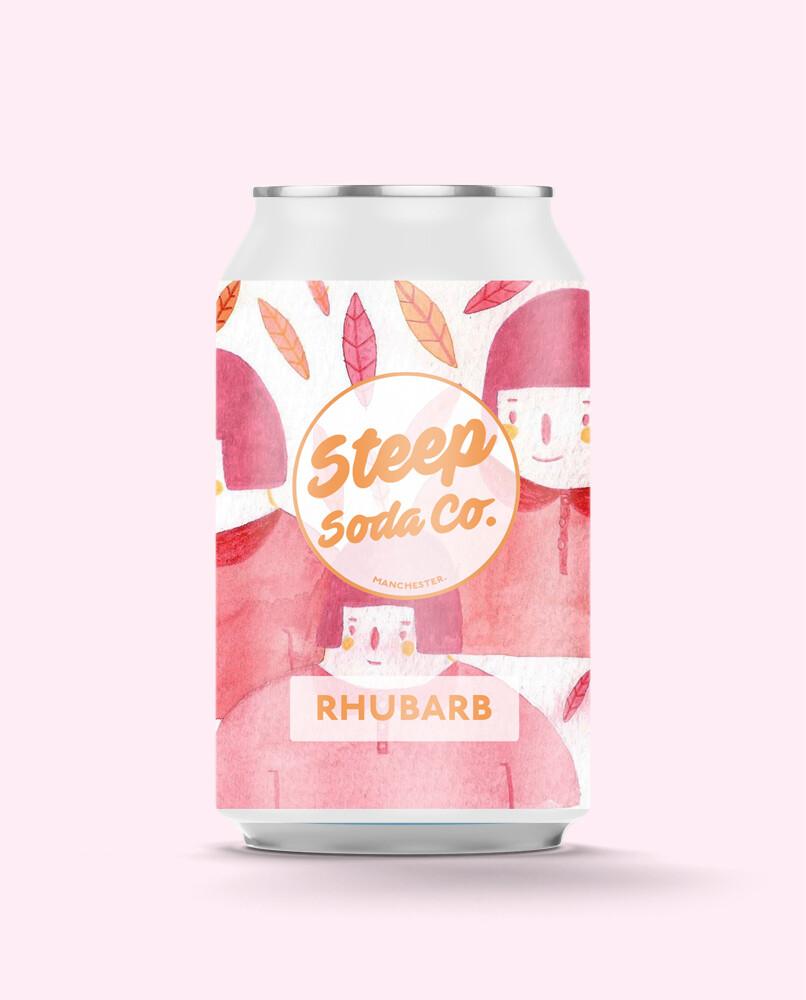 Steep Soda Rhubarb