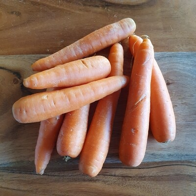 Organic Carrots 600g