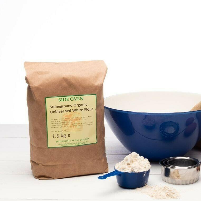 Side Oven - White Unbleached Flour 1.5kg