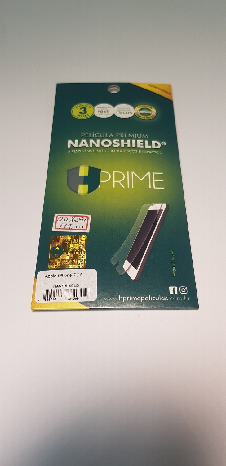 Película HPrime iPhone 7/8 NanoShield