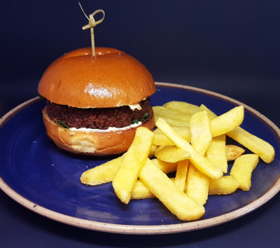Burger Veggie (hambúrguer vegetariano)