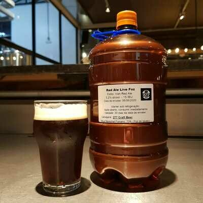 Irish Red Ale (growler pet) 2 litros