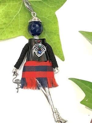 Mademoiselle Doll Necklaces Made in Europe