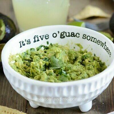 It's Five O'Guac Somewhere Set