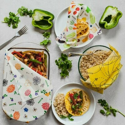 Reusable Food Wraps  Featured on The View, GMA,