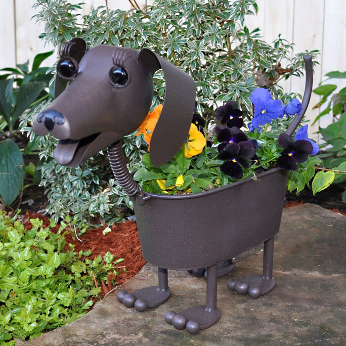 Cutest Dog Planter Ever!