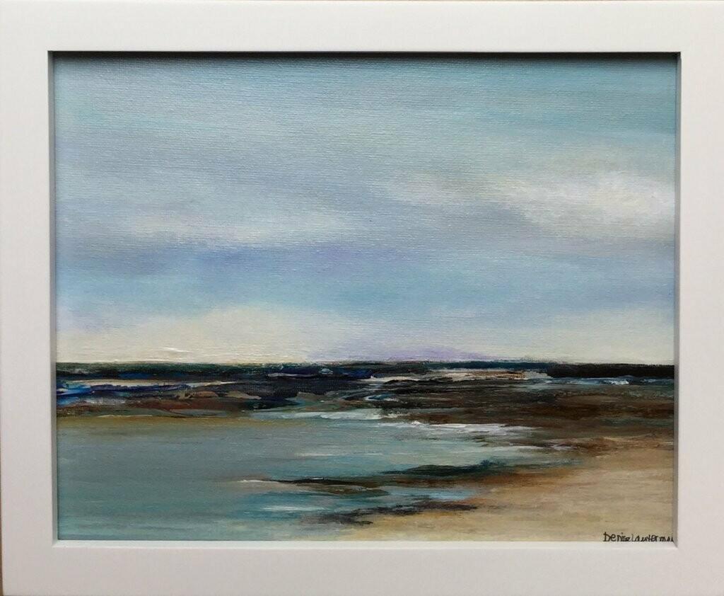 Coastal, framed