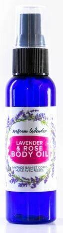 Lavender & Rose Body Oil 59.1 ml