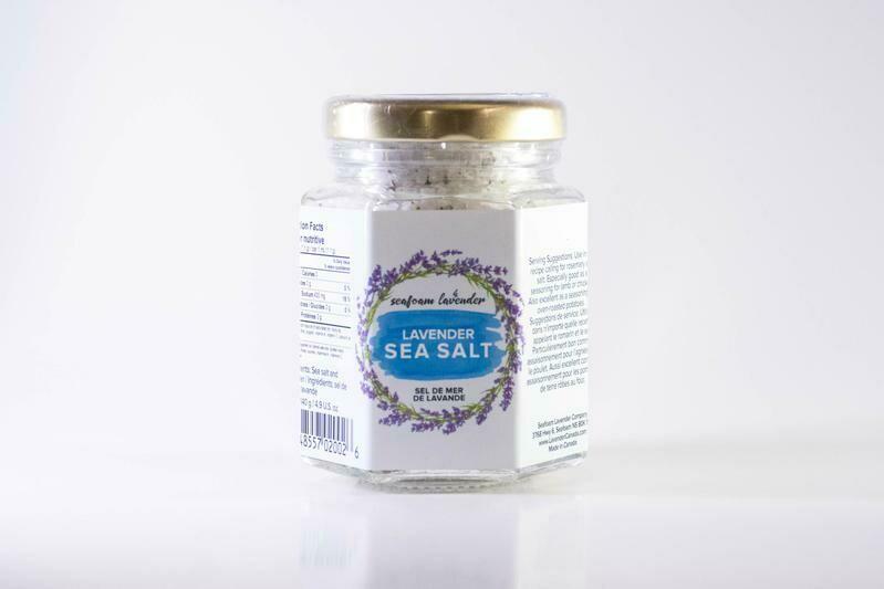 Lavender Sea Salt  135g