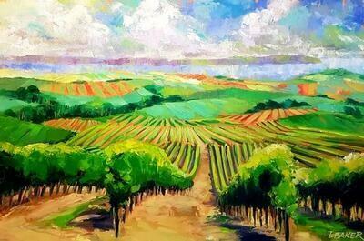 Summer Wine 24x36