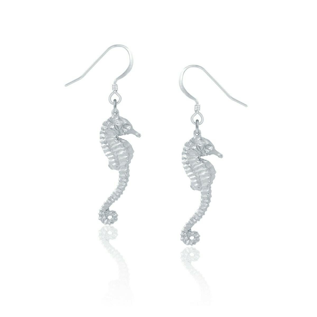 Amos Seahorse Earrings