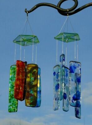 School Street Second Wind Glass Chime