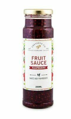 PEI Raspberry Fruit Sauce