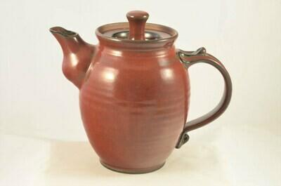 Teapot Iron Red