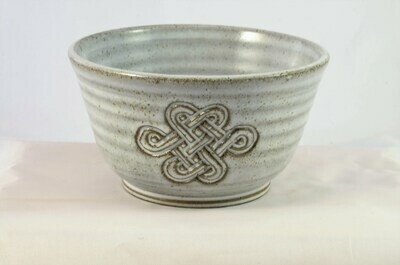 Small Bowl Celtic White