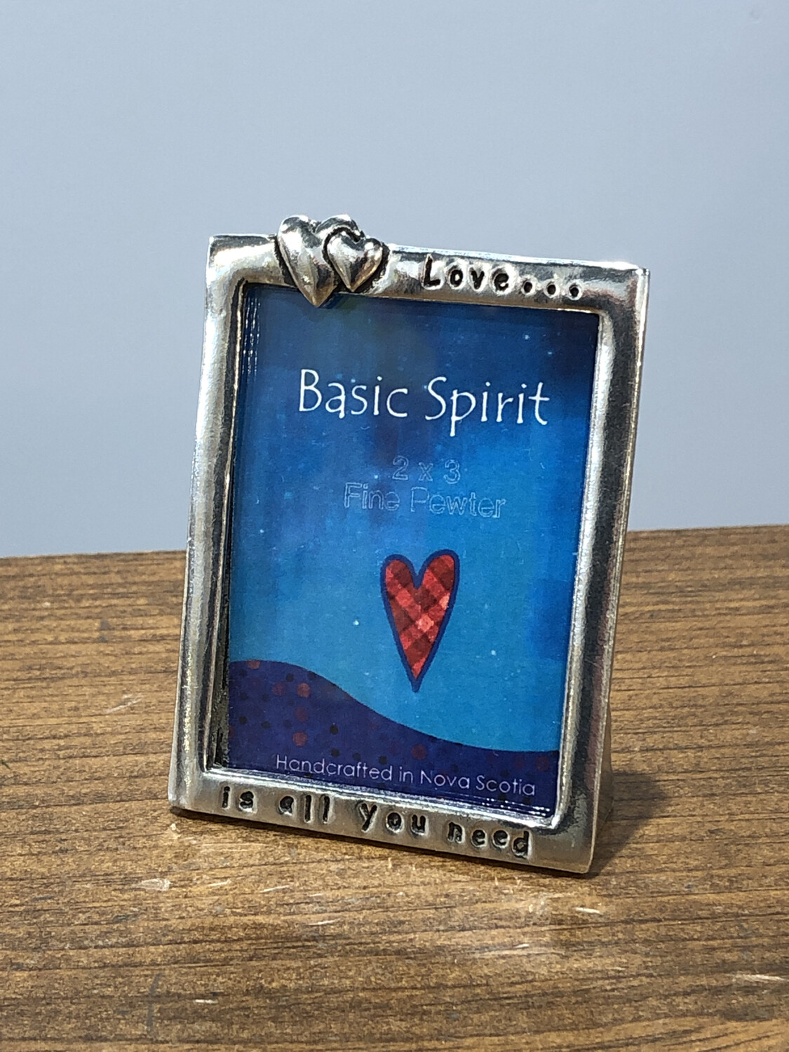Small Pewter Frame