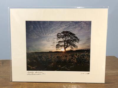 "Len Wagg 11"" X 14"" Photograph"