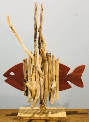 Jerry Walsh Extra Large Skeleton Fish