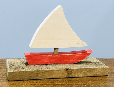 Jerry Walsh Small Sailboat