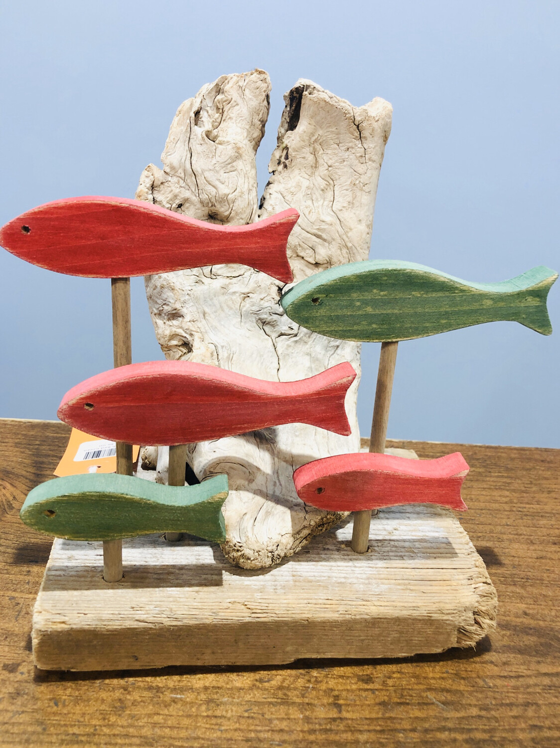 Jerry Walsh 5 Fish Red & Green