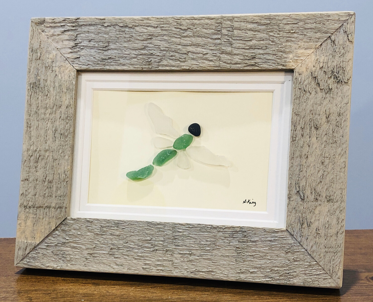 Susan King Sea Glass 5x7 Picture