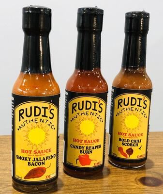 Rudi's Hot Sauce Black Label 150ml