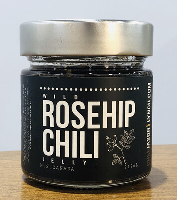 Jason's Wild Rosehip Wine Jelly