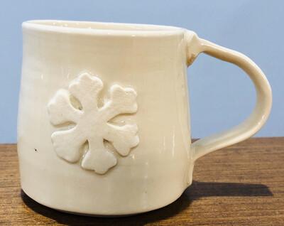 Snowflake Mug Ginette Arsenault