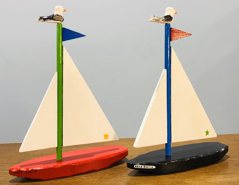 Timberdoodle Large Sailboat