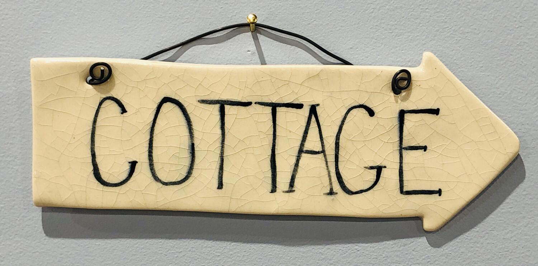 Clayton Dickson Cottage Sign