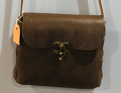 Leather Purse James Brown