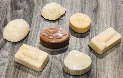 KettleGrove Assorted Shaped Goat Milk Soap