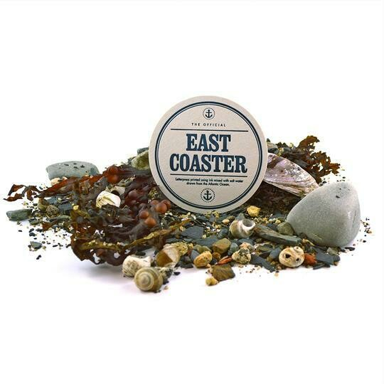East Coaster Six Pack of Drink Coasters